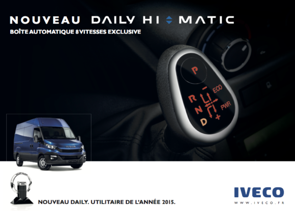 Iveco – Campagne Daily Hi-Matic