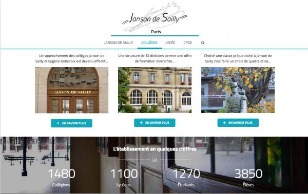 Lycée Janson de Sailly – Une volonté d'excellence